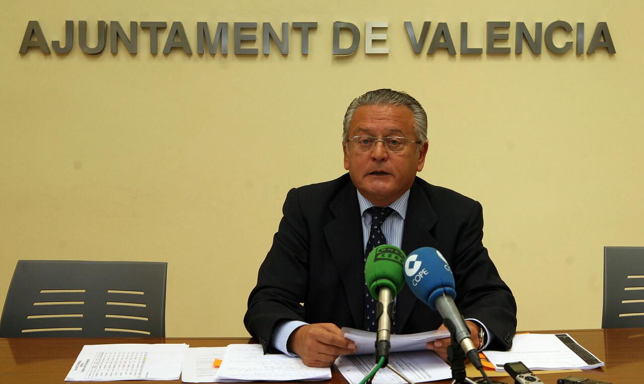Silvestre Senent, concejal de Presupuestos/ayto vlc