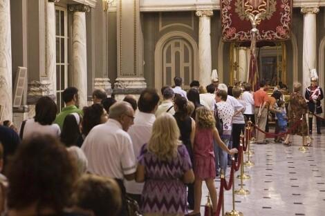 Los valencianos podrán contemplar la Senyera el lunes 8 de octubre desde las 11 horas/v.b.