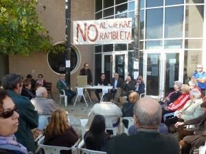 Los vecinos realizaron una asamblea en el barrio el pasado sábado/aavv san marcelino
