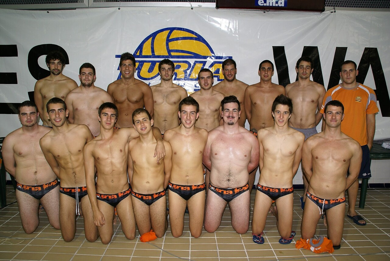 Jugadores del Equipo del Waterpolo Turia/waterpolo turia