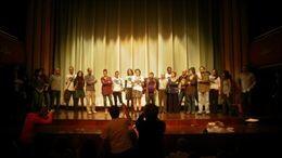 Actores en el Talia