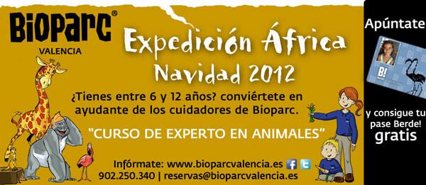 Expedición África Navidad 2012 en Bioparc Valencia