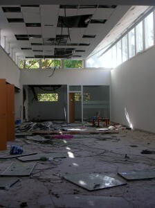 Interior de la Biblioteca de Trinitat/gms