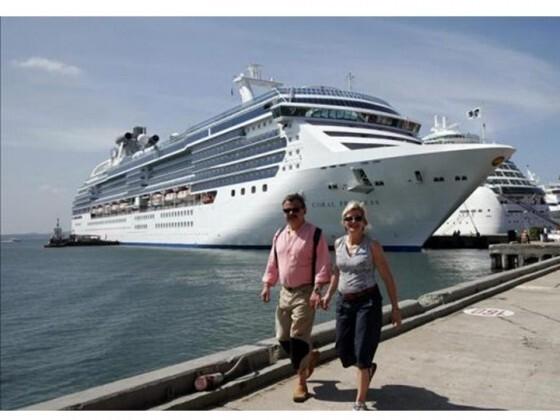 Cruceristas en Valencia