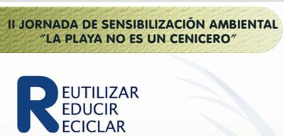Cartel de la II Jornada de sensibilización ambiental/ayto vlc