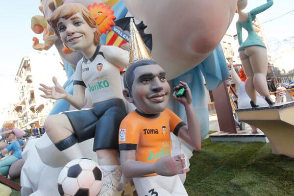 Premio Superdeporte a la mejor escena fallera dedicada al deporte valenciano