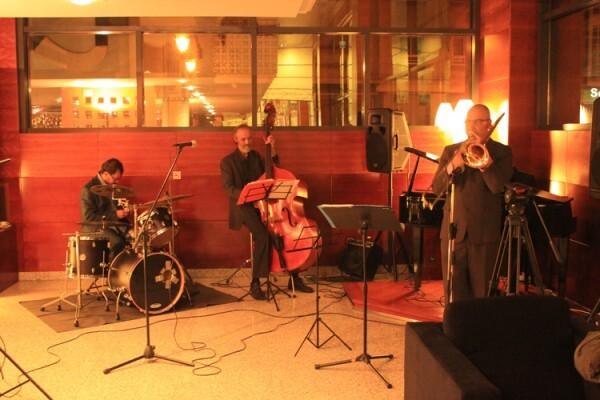 Lupe Azcano Quintet, en un momento de su actuación