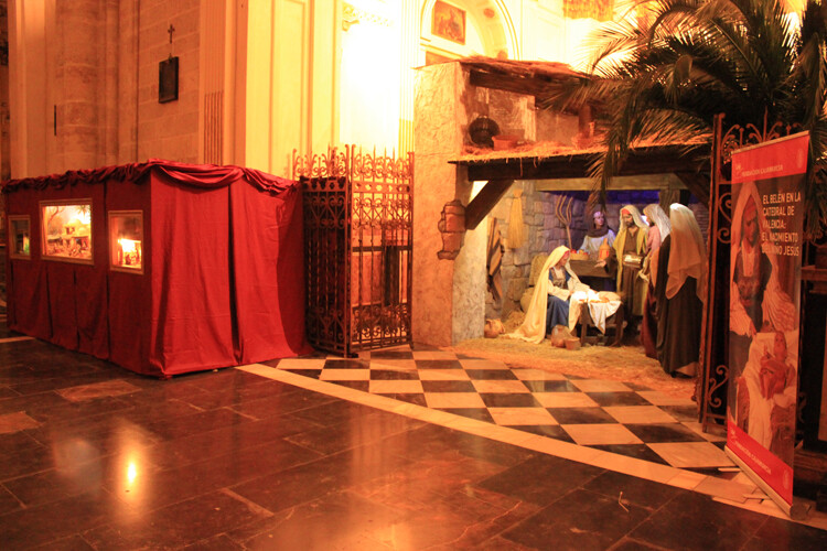 Belén y Dioramas de la Catedral de Valencia, Navidad de 2012