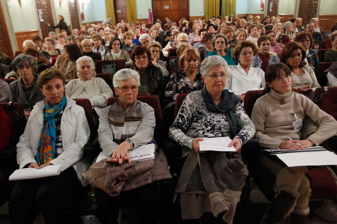 Asistentes a la asamblea de Mano Unidas/alberto saiz