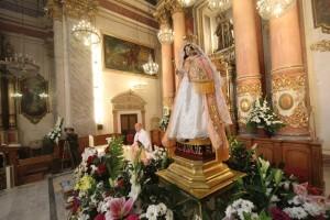 La patrona de Ecuador en la iglesia de Santa Mónica/javier peiró