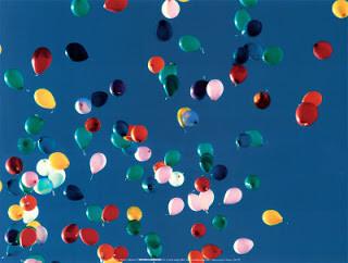 Suelta de globos