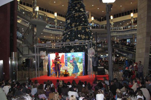 Teatro Infantil en el Centro Comercial El Saler, Navidad 2012