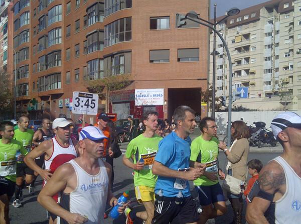 Maratón Divina Pastora, edición 2012.
