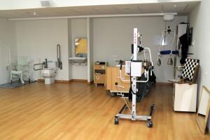 Interior de una de las dependencias del centro/avan