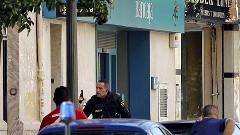 Un atraco a una sucursal bancaria de Valencia/elagentedeseguridad