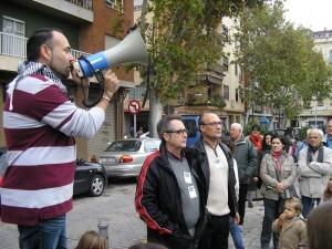 El presidente de los vecinos de Patraix junto a dos directivos de Cavecova/vlcciudad