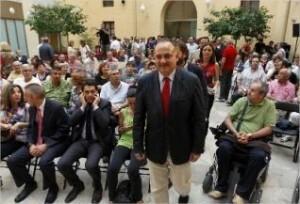 Joan Calabuig en un acto del PSPV/pspv