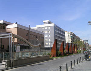 Hospital Casa de la La Salud recayente a la calle Santos Justo y Pastor/casadelasalud