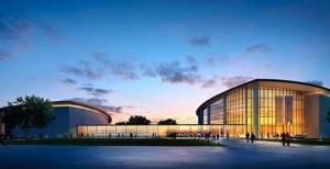 Aspecto de como quedará el Palacio de Congresos tras la ampliación