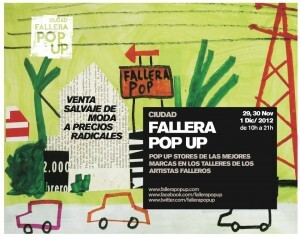 Cartel del Fallera Pop up