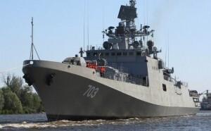 La fragata de la Armada India está atracada en Valencia haciendo una escala en su viaje de Rusia a la India