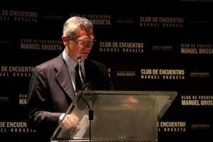 El Ministro de Justicia, Alberto Ruiz-Gallardón en el Club de Encuentro/cde