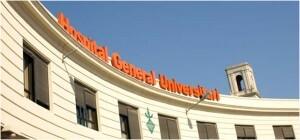 Fachada del Hospital General de Valencia