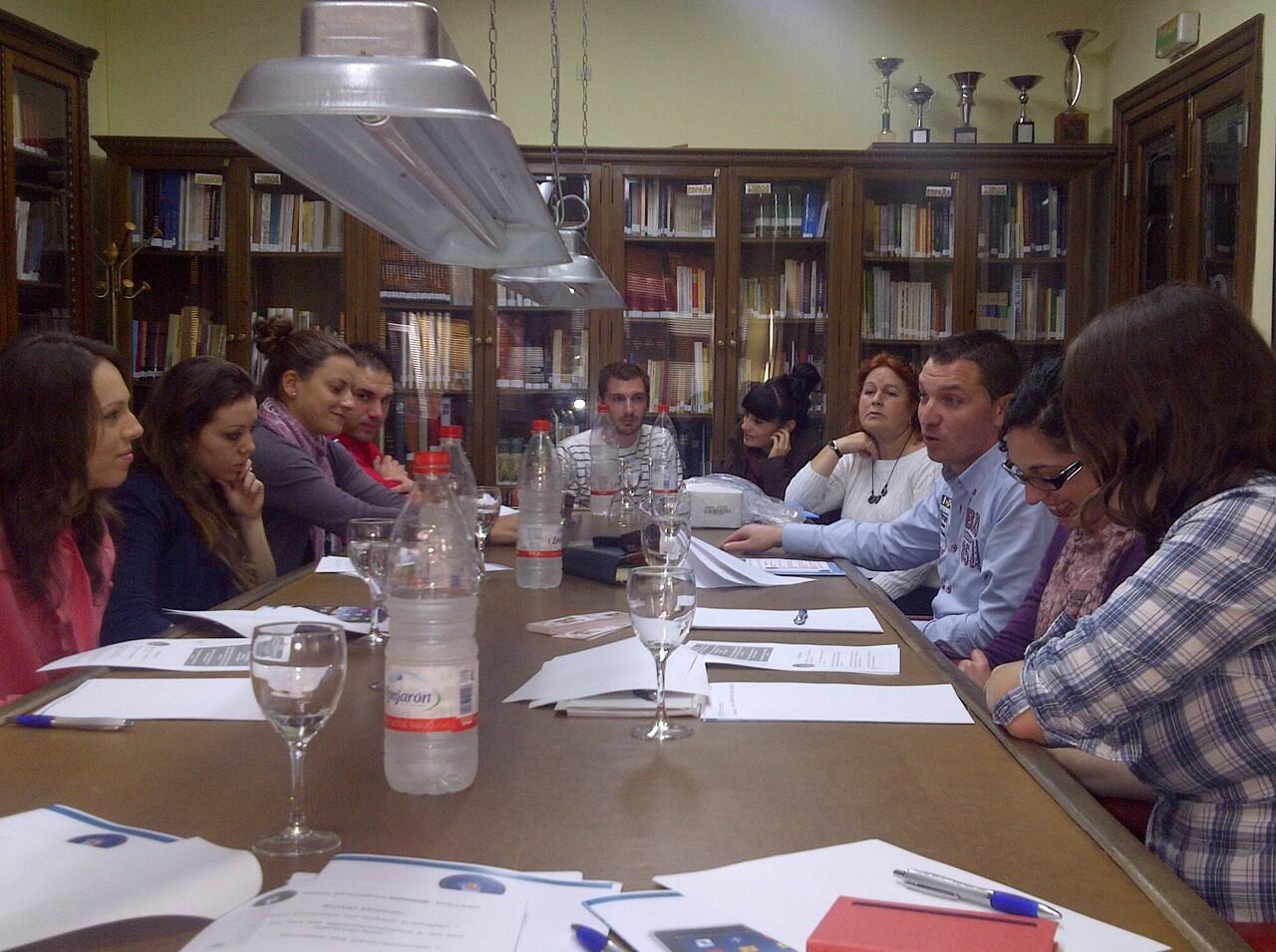 Un momento del encuentro de jóvenes de las casas regionales de Valencia y L´Horta/vlcciudad