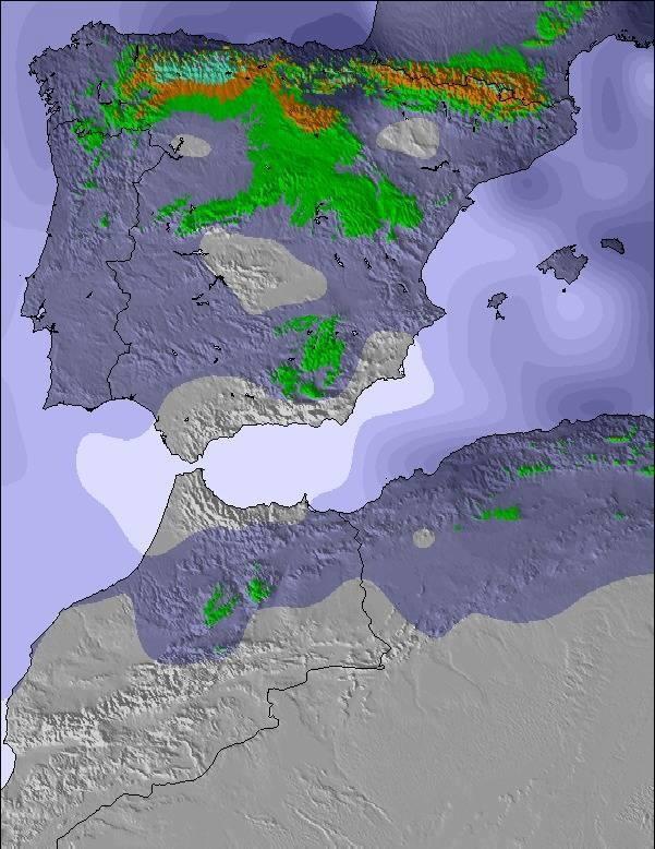 Mapa previsto para los próximos días/Quetiempohace-a.rivera