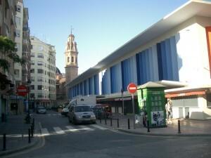 Exterior del Mercado de Ruzafa/asoc. vend. mercado ruzafa