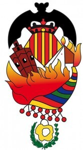 Escudo de la falla Santa María Micaela