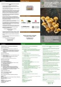 Programa de actividades de las jornadas micologicas en NaTuria