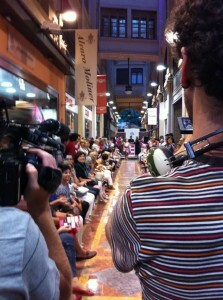 Alvaro Moliner y Vives y Mari organizaron un desfile en su pasaje
