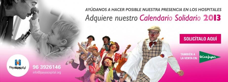 Anuncio del calendario en la web de payosospital/vlcciudad