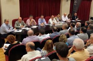 Pleno de la Junta Central Fallera del pasado mes de octubre/JCF