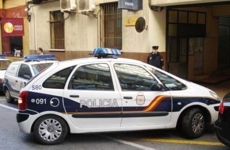 Efectivos de la Policia Nacional
