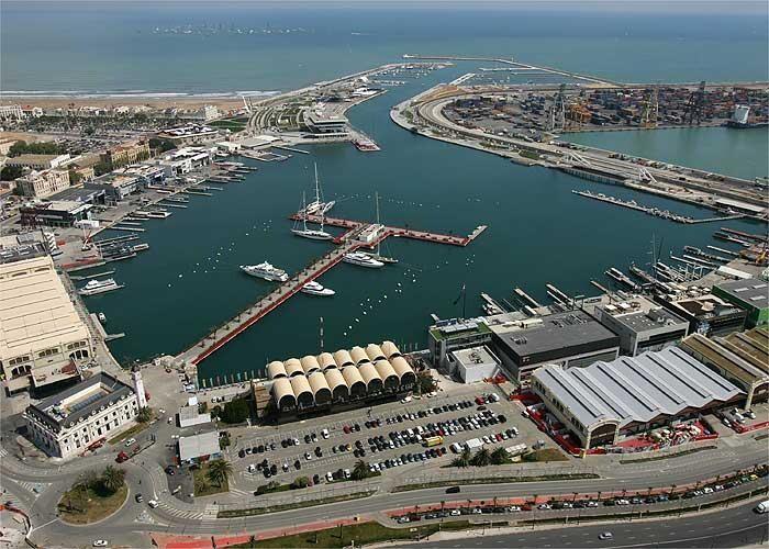 Dársena. Puerto de Valencia