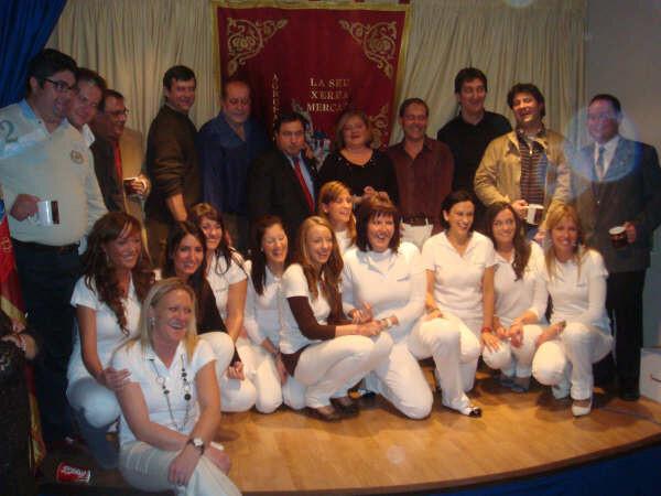 Cena de Relevos La Seu - La Xerea - El Mercat 2009