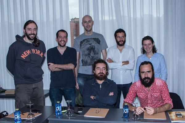 Reunión del jurado de la 5ª edición del festival La Lluna