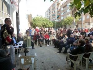 Casi 150 vecinos y usuarios participaron en la asamblea para exigir la reapertura del polideportivo/aavv san marcelino