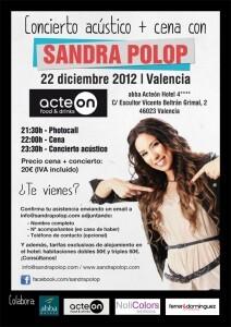 Cartel oficial del evento lúdico gastronómico en el que se ha embarcado Sandra Polop/abba