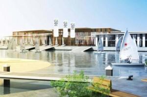 Figuración de la propuesta anterior de Valencia para la candidatura de subsede olímpica