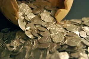 Las monedas después de limpiarse/Insvacor