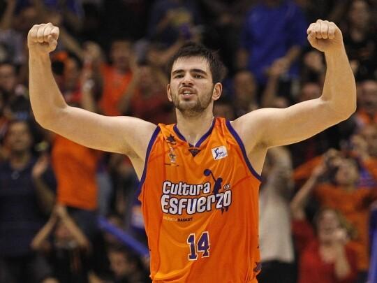 EL Valencia Basket venció al Barça en La Fonteta. Foto: M. Á. Polo