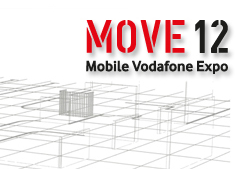 Logo de la jornada move vodafone 2012