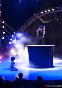 Toda una forma diferente de contemplar el mundo del circo/isaac ferrera
