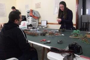 Una jornada de Wargames que organizó el Club La Alianza del León