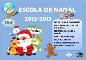 Cartel Escuela Navidad 2012