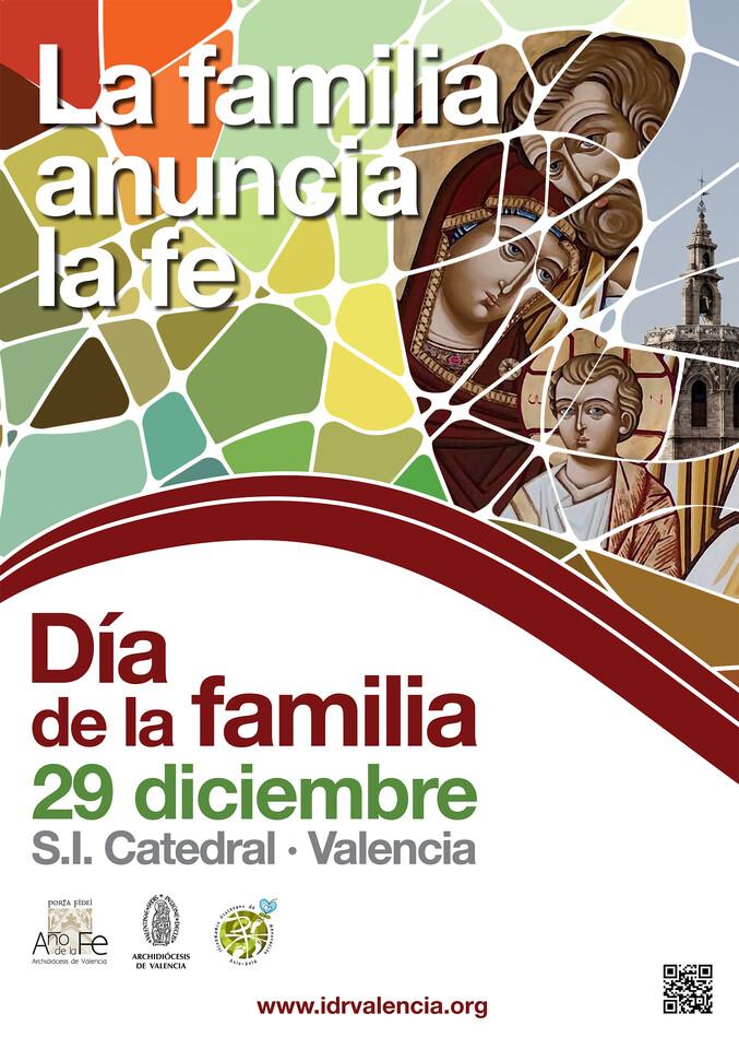Cartel del Día de la Familia
