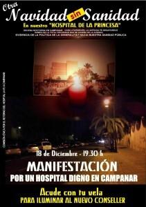Cartel anunciador de la XVIII manifestación/CRHF